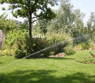 automatische Gartenbewässerung