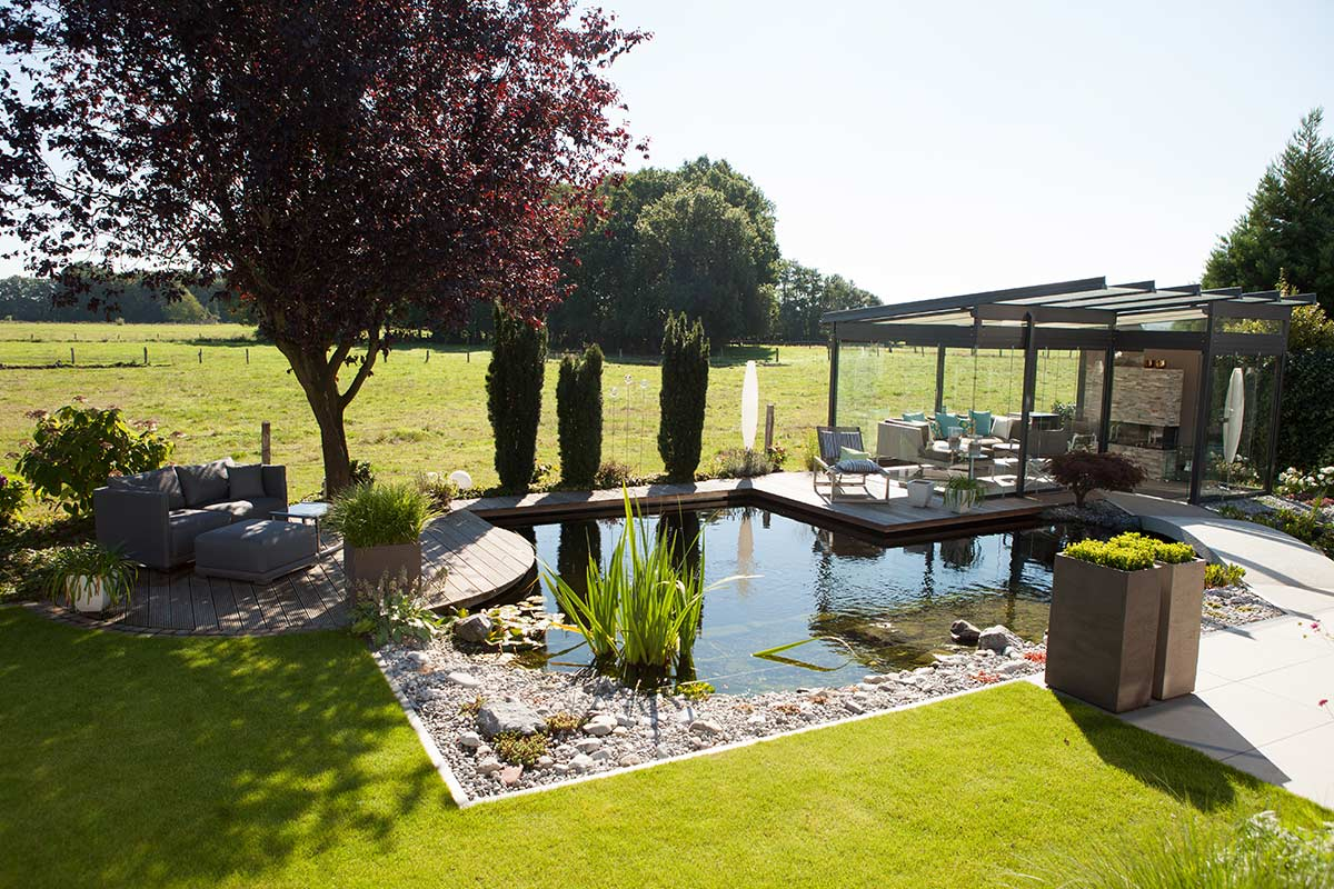 Wasseranlagen von galanet fachbetrieben for Sonnenschutz teich