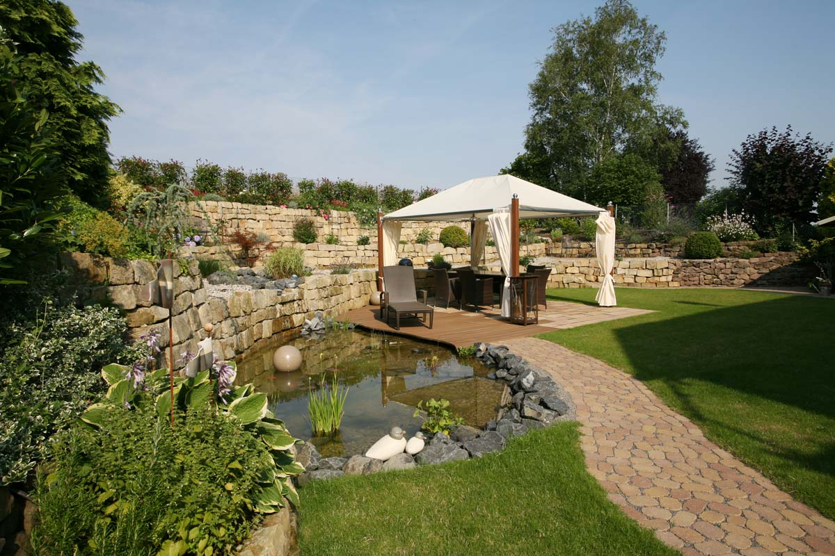 Gartengestaltung f r private traumg rten galanet for Gartenplanung modern