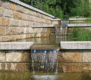 Gestaltung mit Wasser