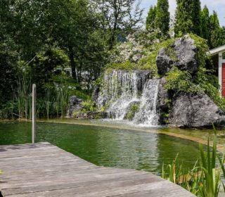Wasseranlage mit Quellsteinen