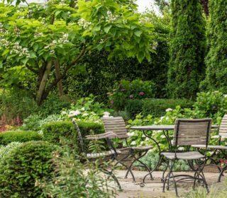 Naturgarten Sitzecke