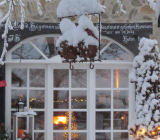 """INGRÜN - Fotowettbewerb """"Garten im Winter"""": Winterliche Gartendeko"""