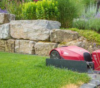 Mähroboter für perfekt geschnittene Rasenflächen