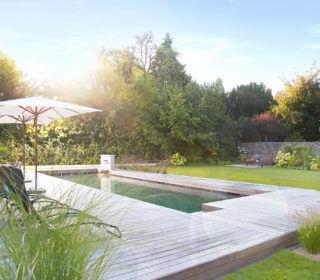 Rasen-Rahmen für den Pool