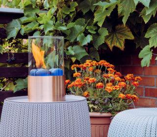 Herbstbepflanzung auf dem Balkon